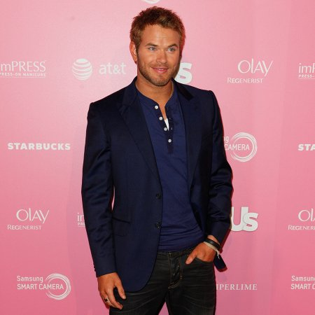 Kellan Lutz inspired by fashion shows