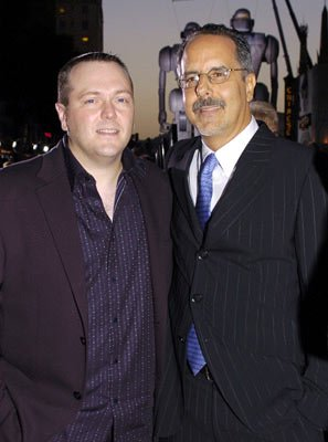 Director Kerry Conran and producer Jon Avnet at the Hollywood premiere of Paramount Pictures' Sky Captain and the World of Tomorrow