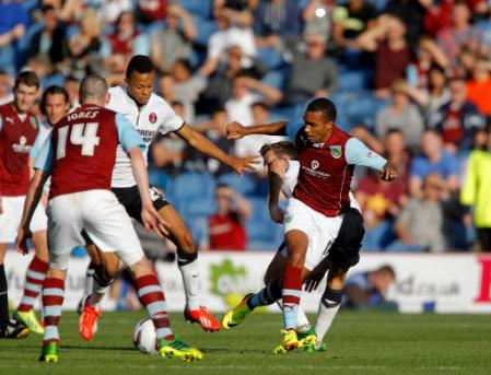 Soccer - Skybet Championship- Burnley v Charlton Athletic, Turf Moor