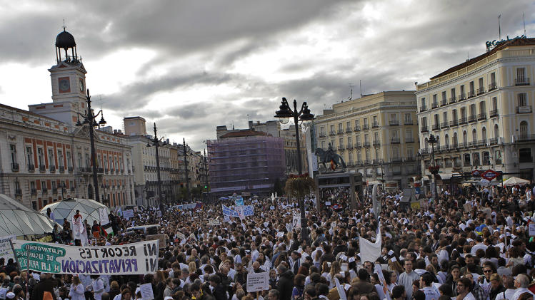 General Strike in Spain