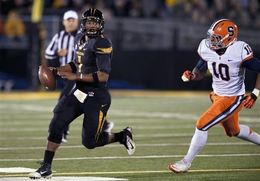 Syracuse spoils Missouri's home finale 31-27