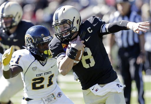 Archer carries, passes Kent State over Army 31-17