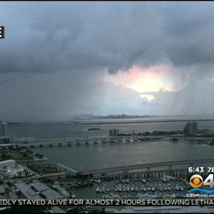 CBSMiami.com Weather 7/24/2014 Thursday 6AM