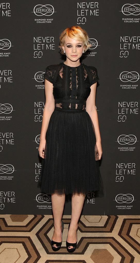 Never Let Me Go NY Premiere 2010 Carey Mulligan