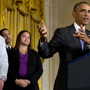 Obama: the US Will Not 'run and Hide' From Ebola