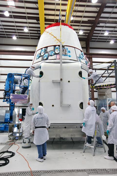 Weather Pristine for Private Rocket Launch to Space Station Friday
