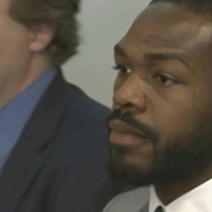 Raw: UFC Champ Jones in Court on Hit and Run