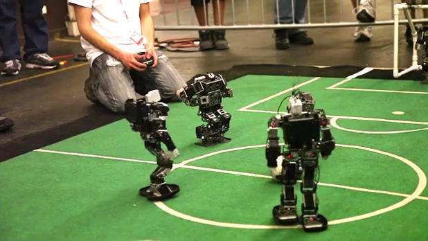 RoboGames bots battle to the death, seek cash for Web series
