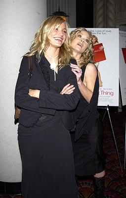 Premiere: Cameron Diaz and Christina Applegate at the New York premiere of Columbia's The Sweetest Thing - 4/8/2002