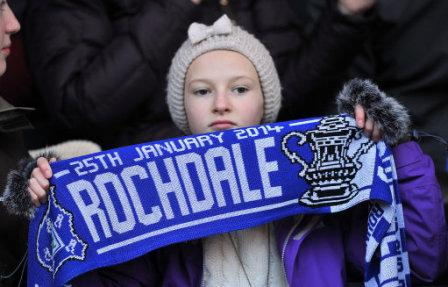 Soccer - FA Cup - Fourth Round - Rochdale v Sheffield Wednesday - Spotland Stadium