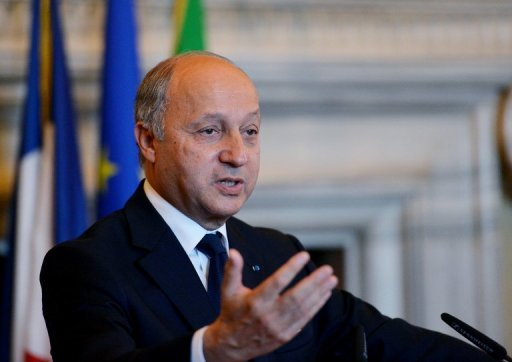French Foreign Minister Laurent Fabius, seen here on June 5, says Russia will not attend a Friends of Syria meeting in Paris on July 6 which seeks to co-ordinate Western and Arab efforts to stop the violence in the country
