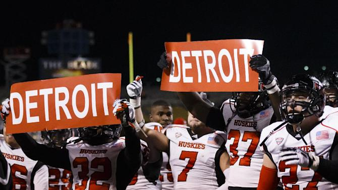 No. 18 N Illinois shrugs off BCS questions for now