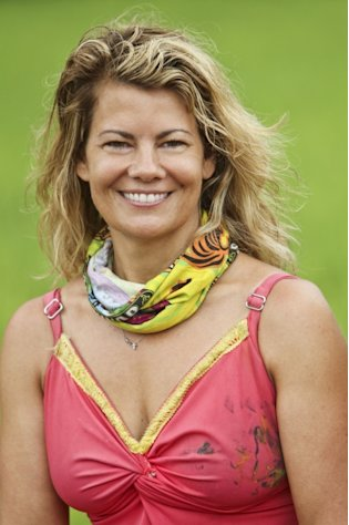 Lisa Whelchel of the Tandang Tribe on &#39;Survivor: Philippines&#39; -- Getty Premium