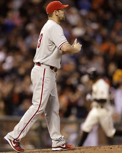 Phillies Cliff Lee dominates Giants once again