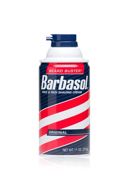 BARBASOL BEARD BUSTER THICK & RICH SHAVING CREAM, $1.69