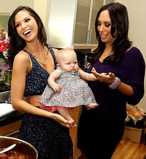Melissa Rycroft Reunites with Cheryl Burke at Housewarming Bash