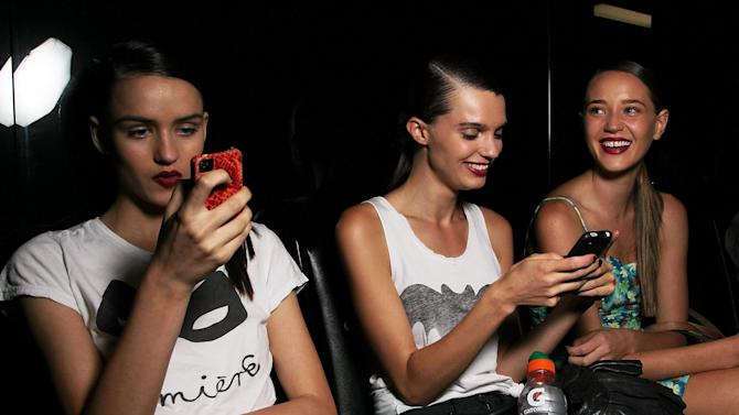 Behind The Scenes At L'Oreal Melbourne Fashion Festival