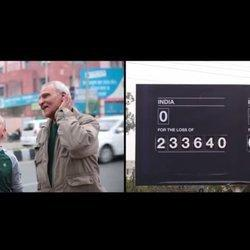 Powerful Sports Scoreboards Tally War 'Death Count' To Reduce Violence In India, Pakistan