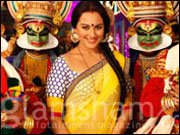 Sonakshi hones her Kathakali skills on DABANGG 2 sets
