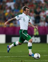 Glenn Whelan is an injury concern for the Republic of Ireland