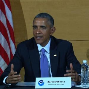 Obama: Responding to Hurricanes a 'Team Effort'