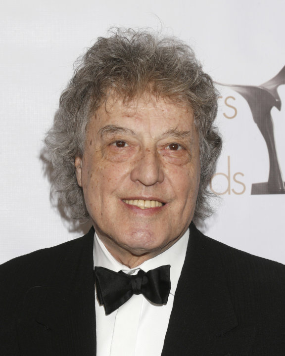 Tom Stoppard attends the 2013 Writers Guild Awards at the JW Marriott on Sunday, Feb. 17., 2013 in Los Angeles. (Photo by Todd Williamson/Invision/AP)