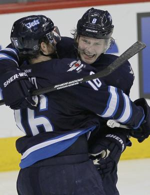 Trouba's OT goal gives Jets 3-2 win over Oilers