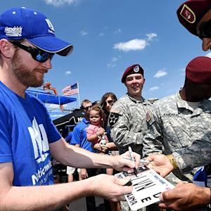 NASCAR Salutes: 600 miles of remembrance
