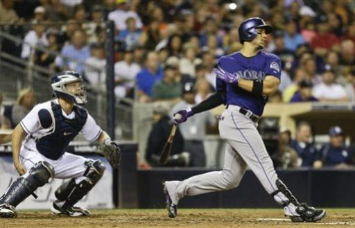 De La Rosa leads Rockies over Padres, 5-4