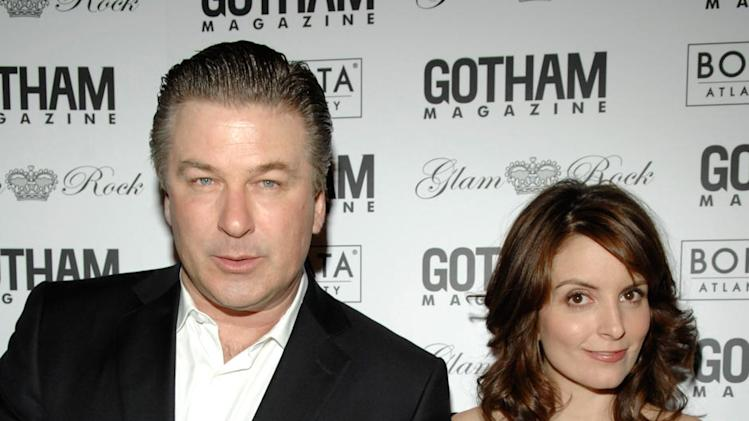 Alec Baldwin and Tina Fey attend Gotham Magazines Eighth Annual Gala - February 12, 2008