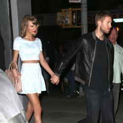 Taylor Swift & Calvin Harris Hold Hands During NYC Date Night
