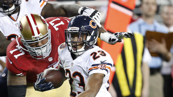 Fuller emerges for Bears in win over 49ers