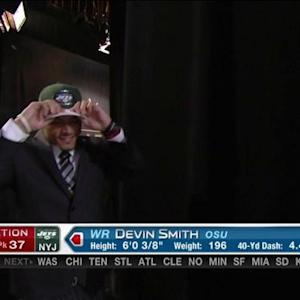 New York Jets pick wide receiver Devin Smith No. 37 in the 2015 NFL Draft