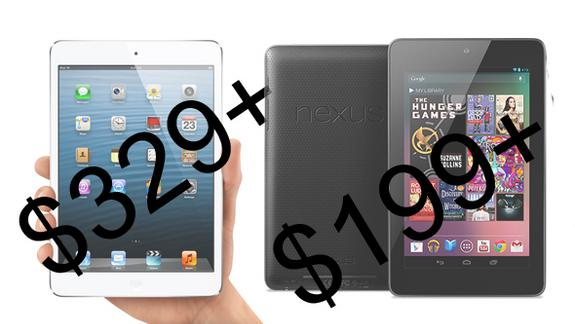 7 Ways the Nexus 7 Beats the iPad mini