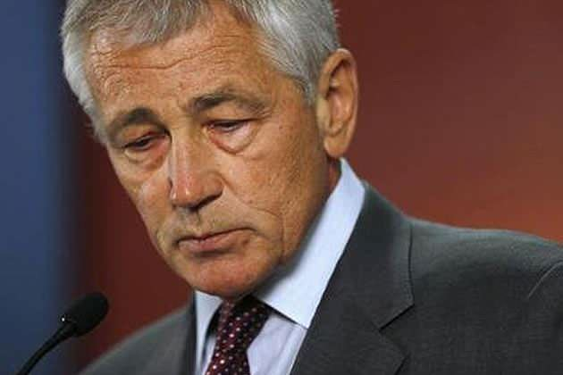 "U.S. Defense Secretary Chuck Hagel says ""the Department of Defense intends to make the same benefits available to all military spouses—regardless of..."