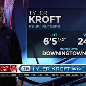 Cincinnati Bengals pick Rutgers tight end Tyler Kroft No. 85