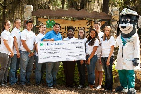 UnitedHealthcare and Florida 4-H Team Up to Promote Healthy Living Among Youth at Statewide Youth Retreat
