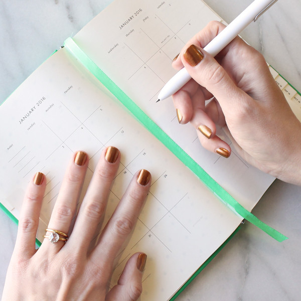 The Nail Colors To Try In 2016 (A New One For Each Month