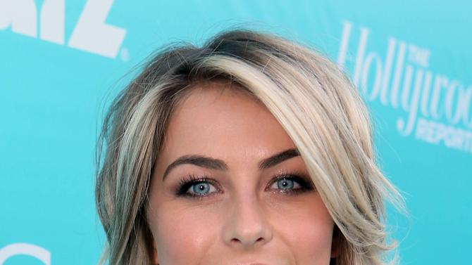 """Julianne Hough arrives at the """"Magic City"""" season 2 premiere at the American Film Institute on Monday, June 3, 2013, in Los Angeles. (Photo by Alex Wyman/Invision for The Hollywood Reporter/AP Images)"""