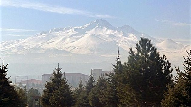 Mount Erciyes in Kayseri, Turkey