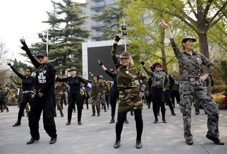 Square dancing runs circles around other hobbies for China's elderly