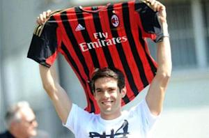 Kaka emotional after San Siro return