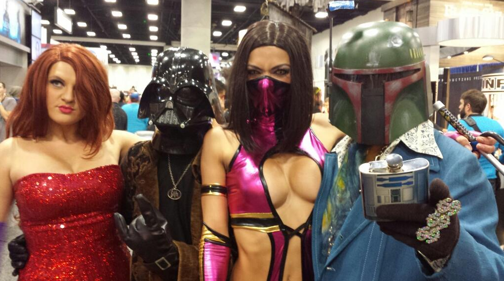 Adrianne Curry Star WArs costumes