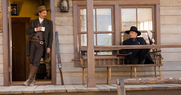 Appaloosa Production Stills New Line Cinema 2008 Viggo Mortensen Ed Harris
