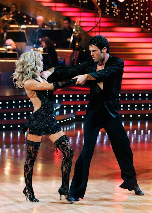 "Chuck Wicks and Julianne Hough perform the Rumba to ""She Will Be Loved"" by Maroon 5 on ""Dancing with the Stars."""