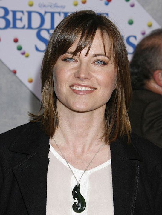 Lucy Lawless arrives at the Los Angeles premiere of &quot;Bedtime Stories&quot; at the El Capitan Theatre on December 18, 2008 in Hollywood, California. 
