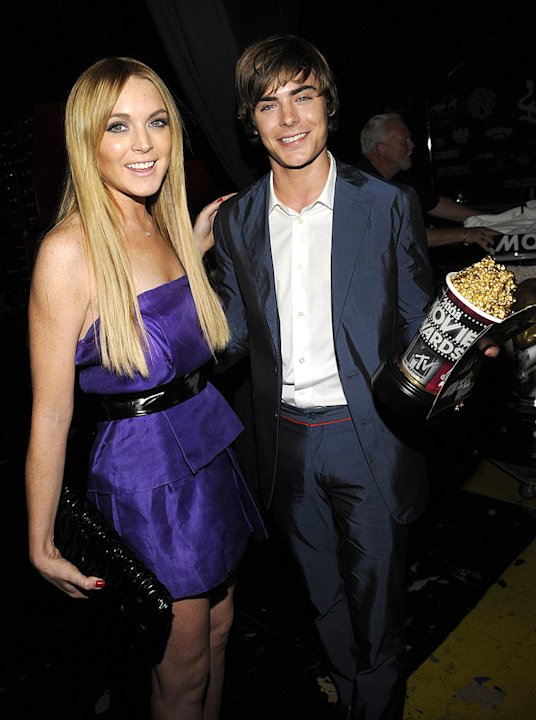 Lohan Efron MTV Movie Aw