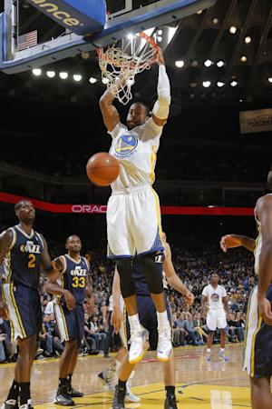 Warriors hold off Jazz 102-88 after O'Neal injury