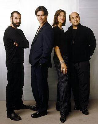 Rick Hoffman, John Stamos, Wendie Malick and Ian Gomez