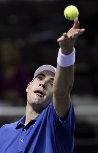 Isner rallies past Malisse into San Jose semis